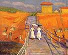 Cape Cod Pier 1908 - William Glackens