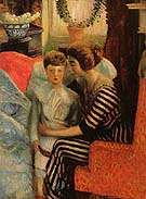 The Artists Wife and Son 1911 - William Glackens