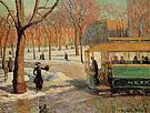The Green Car 1910 - William Glackens