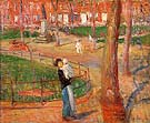 Mother and Baby Washington Square 1914 - William Glackens