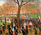 Parade Washington Square 1912 - William Glackens