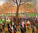 Parade Washington Square 1912 - William Glackens