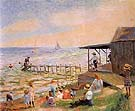 Beach Side 1913 - William Glackens