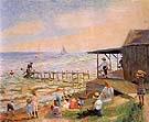 Beach Side 1913 - William Glackens