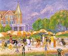 Beach Umbrellas Blue Point 1916 - William Glackens