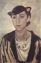 Ritratto Di Jeanne 1934 - Gino Severini