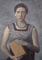 Ritratto Di Gina Severini Franchina 1934 - Gino Severini