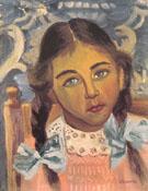 Ritratto Di Romana A Collalbo 1942 - Gino Severini