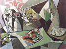 Aragosta Su Carta Verde 1948 - Gino Severini
