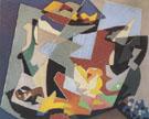 Objets Et Fruits 1954 - Gino Severini