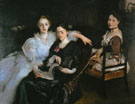 The Misses Vickers 1884 - John Singer Sargent