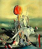 Through Birds Through Fire But Not Glass 1943 - Yves Tanguy
