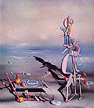 Indefinite Divisbility 1942 - Yves Tanguy