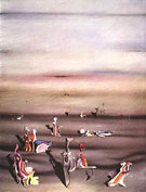 The Furnitur of Time 1939 - Yves Tanguy