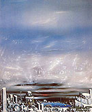 From Green to White 1954 - Yves Tanguy