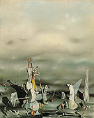 The Palace of the Windowed Rocks 1942 - Yves Tanguy