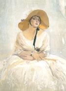 Portrait of Raquel Meller 1918 - Joaquin Sorolla