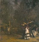 The Spanish Dance c1879 - John Singer Sargent