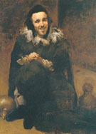 Buffoon Juande Calabazas After Valazquez 1879 - John Singer Sargent