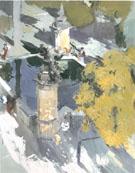 Fountain of The Mosque Cordon 1910 - Joaquin Sorolla