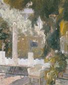 Garden of The Sorolla Residence 1920 - Joaquin Sorolla