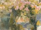 Garden of The Sorolla Residence c1918 - Joaquin Sorolla