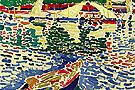 Barqu au Port de Collioure c1905 - Andre Derain