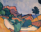 Road in the Mountains - Andre Derain
