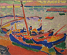 Fishing Boat Colloiure 1905 - Andre Derain