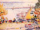 Le Port de Collioure 1905 - Andre Derain