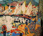 Le Sechage des Voiles 1905 - Andre Derain