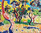 Trees in Kolliure 1905 - Andre Derain