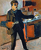 Self Portrait in the Studio - Andre Derain