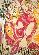 Sun Woman I 1957 - Lee Krasner