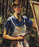 Self Portrait 1930 - Lee Krasner