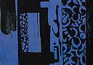 Blue and Black c1951 - Lee Krasner