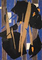 Blue Level 1955 - Lee Krasner