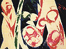 The Green Fuse 1968 - Lee Krasner