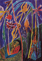 In The Grass 1934 - Andre Masson