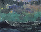 Dark Sea Green Sky - Emil Nolde