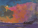 Sea with Colourful Sky - Emil Nolde