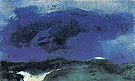 Green Sea with Blue Could - Emil Nolde
