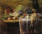 Still Life with Duck 1880 - James Ensor