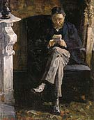 Portrait of the Artists Father 1881 - James Ensor