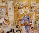 The Skeleton Painter 1896 - James Ensor