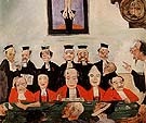 The Wise Judges 1891 - James Ensor