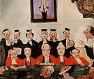 The Wise Judges 1891 - James Ensor