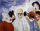 Death and the Masks 1897 - James Ensor