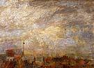 Rooftops of Ostend 1884 - James Ensor