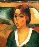 Portrait of Woman 1908 - Max Pechstein